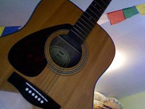 Hyman's guitar