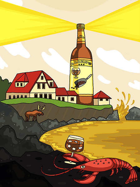 The Champagne Of Maine The Morning News