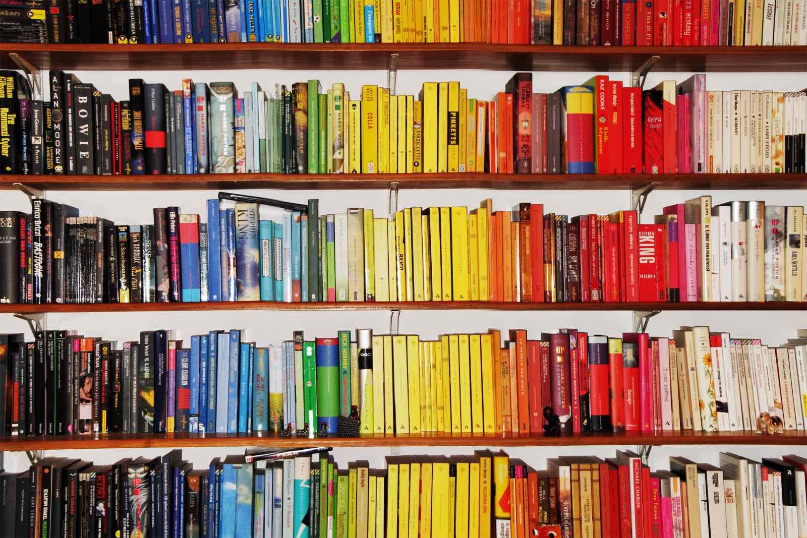 Co colour coordinated bookshelf - Co colour coordinated bookshelf 6