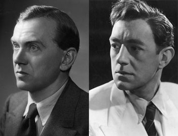 Graham Greene and Alec Guinness