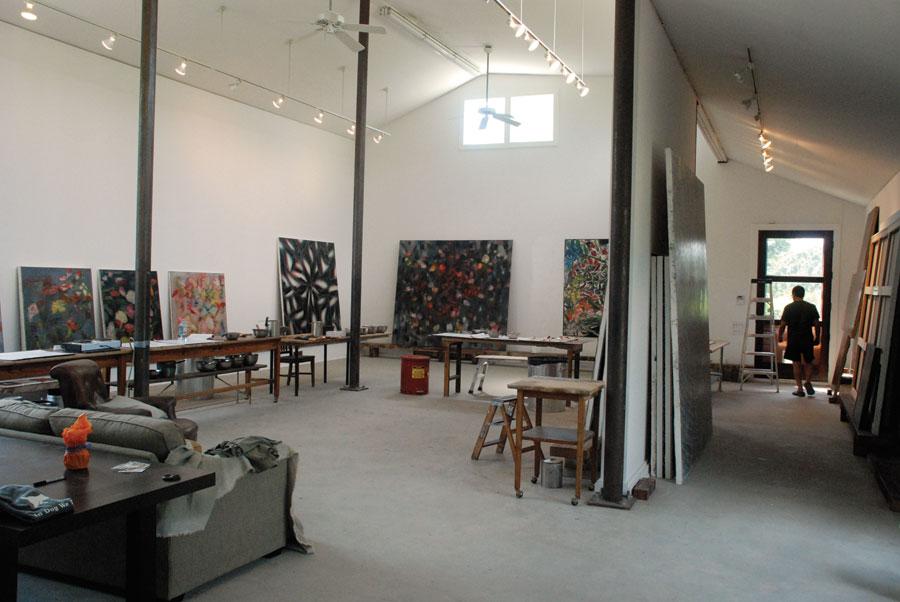 Inside The Painter S Studio The Morning News