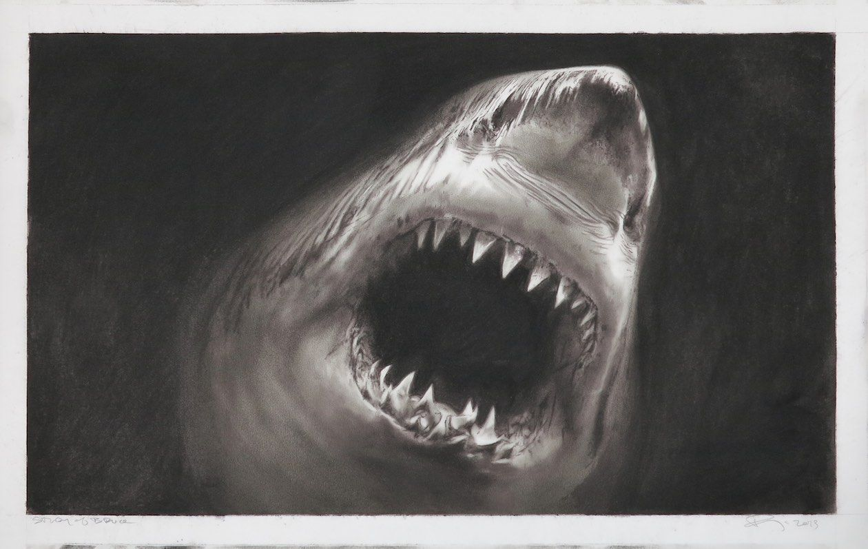 Jaws Book Cover Art ~ Jaws novel book cover print horror book cover first edition etsy
