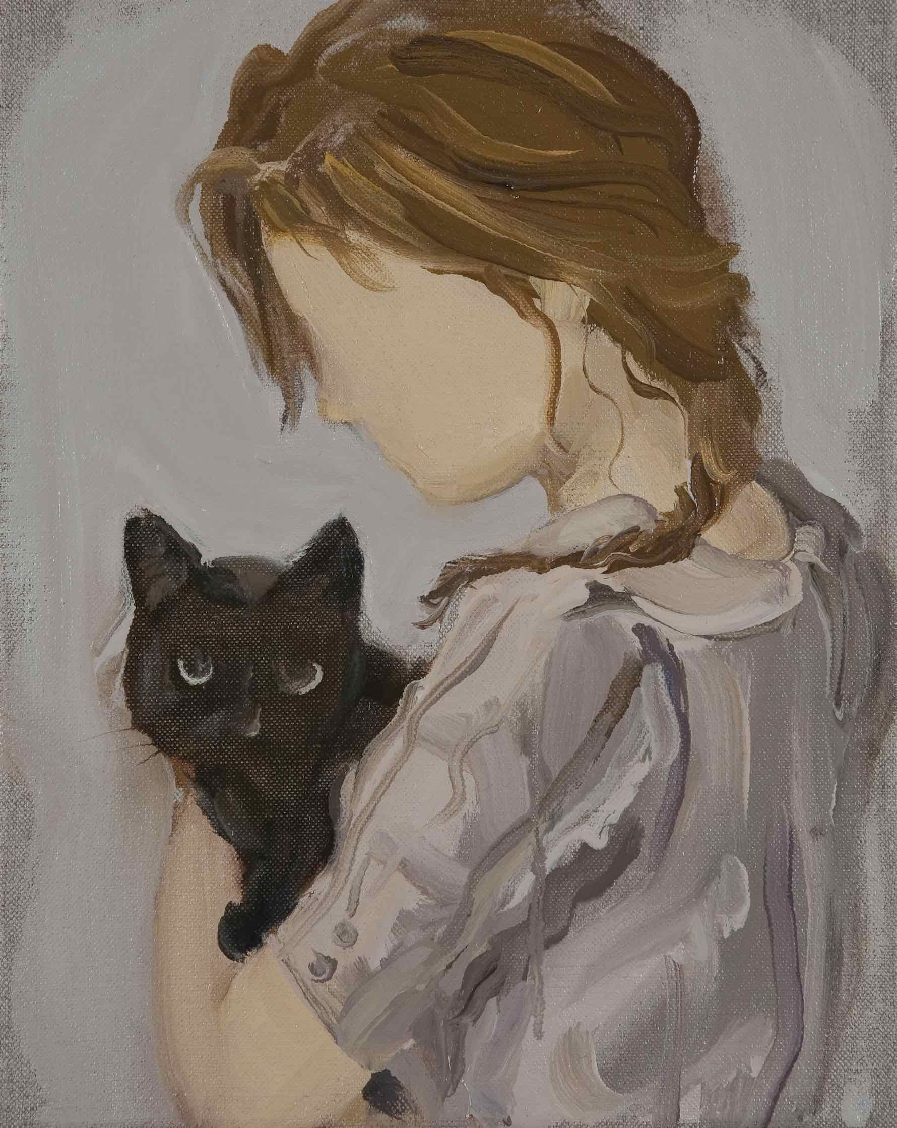 Black Cat Gideon Rubin 2012 Courtesy The Artist And Hosfelt Gallery