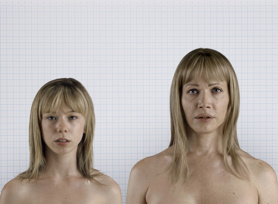 Naked girls photos with body images for study