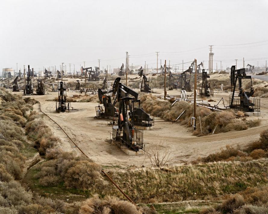 Burtynsky Oil Fields Oil Fields 10
