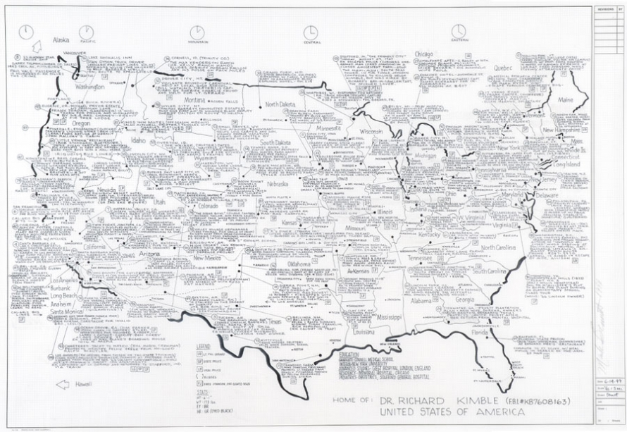 The Map Of The Art The Morning News - Us map blueprint
