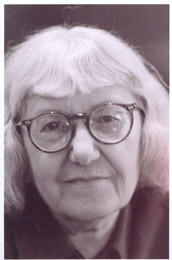 Cynthia Ozick, photographed by Robert Birnbaum