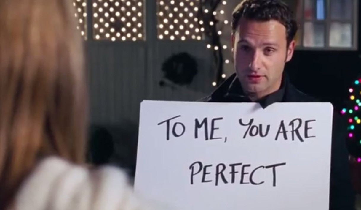 To me you are perfect.
