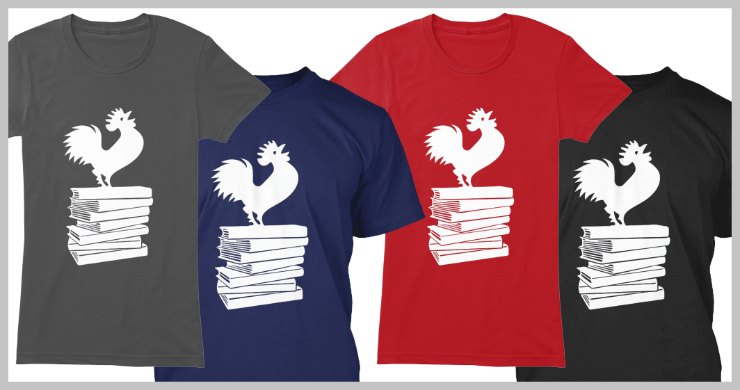 The Official 2016 Tournament of Books T-Shirt